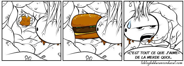 Put your Junk in that Burger and bite it
