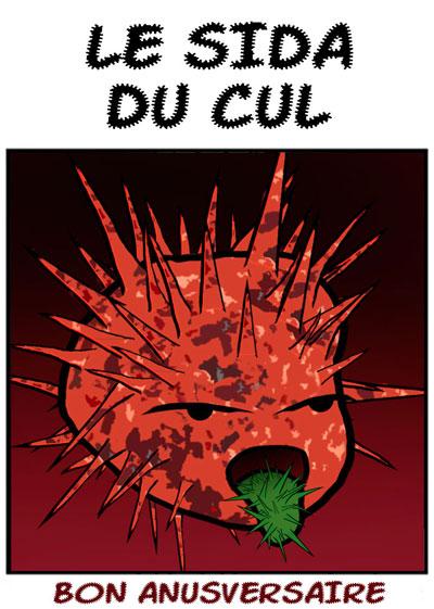Le Sida du Cul by Ludal