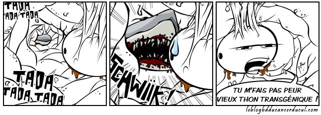 Les dents du cul