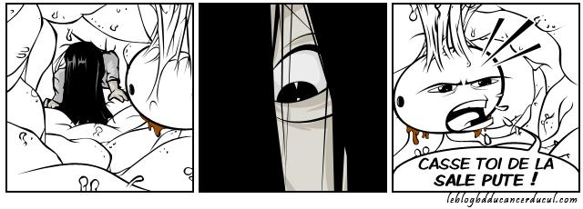 J'en connais un qui va se faire Sadako à sec !